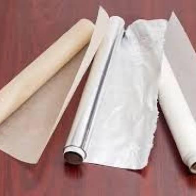 Фольга, папір для випічки