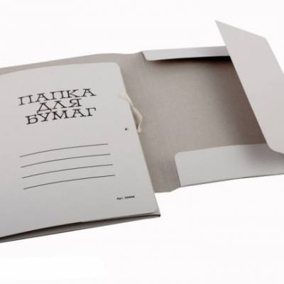 Папки та швидкозшивачі з картону