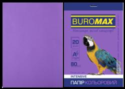Папір кольоровий А4, 80г/м2, INTENSIV, фіолетовий, 20арк.