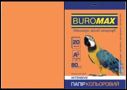 Папір кольоровий А4, 80г/м2, INTENSIV, помаранчевий, 20арк.