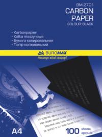 Папір копіювальний 210x297мм. 100 арк.. чорний