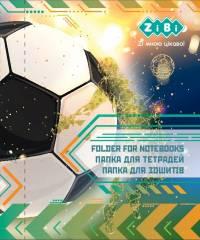 Папка для зошитів FOOTBALL, картонна, на резинці B5+ (175х240х25мм), KIDS Line