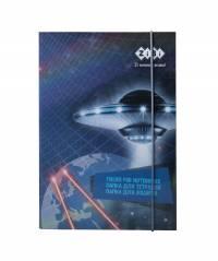 Папка для зошитів COSMO, картонна, на резинці B5+ (175х240х25мм), KIDS Line