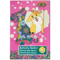 Папка для праці Art Effect DOG, картонна, на гумках А4+ (315х215х30мм), KIDS Line