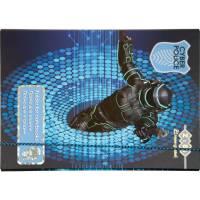 Папка для зошитів Art Effect CYBER POLICE, картонна, на гумках В5+ (175х240х25мм), KIDS Line