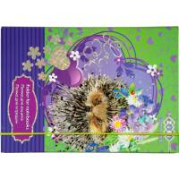 Папка для зошитів Art Effect LOVE YOU, картонна, на гумках В5+ (175х240х25мм), KIDS Line